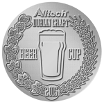 2014 Dublin Craft Beer Cup – Bronze Medal • Valencia Saison – a Saison all about Valencia Oranges Designed for Premium Beers from Spain